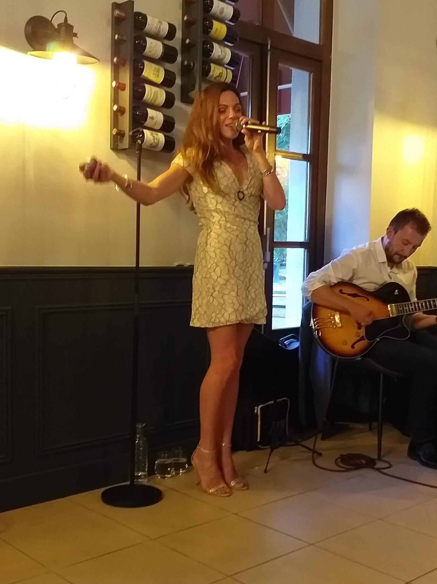 Renaud Grimoult & Delphine Sartore concert à Salles