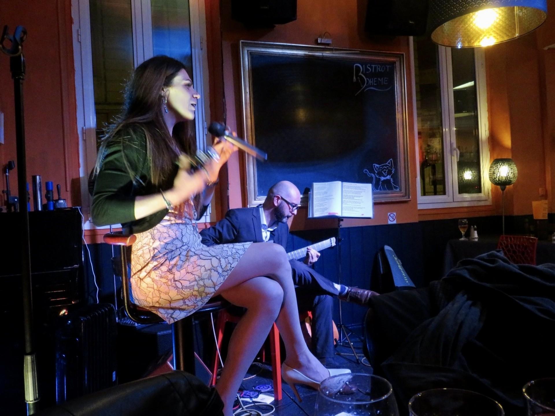 Duo Jazz Bistrot Boheme Bordeaux