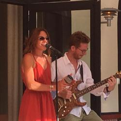 Concert haaitje Christophe Maroye & Delphine Sartore