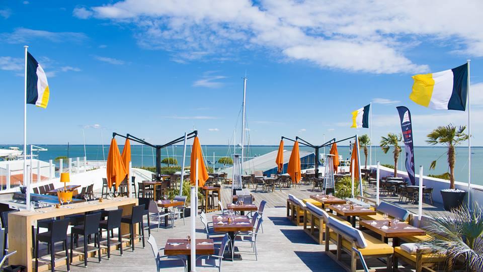 Les terrasses du port Arcachon