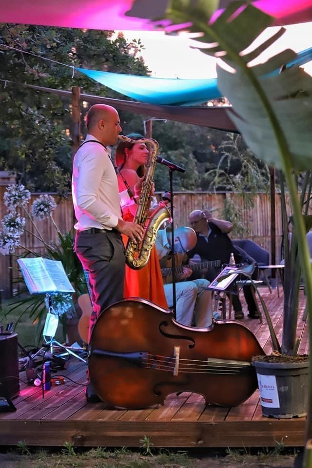 Trio Jazz Bordeaux Saxophone